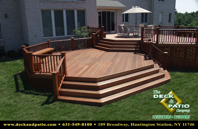 Wood and Composite Decks,Trex, Timbertech, Azek Deck - Traditional .