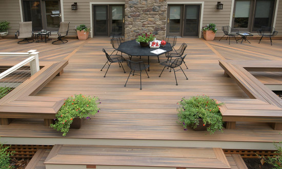 22 Deck Design Ideas To Create a Fabulous Outdoor Living Space .