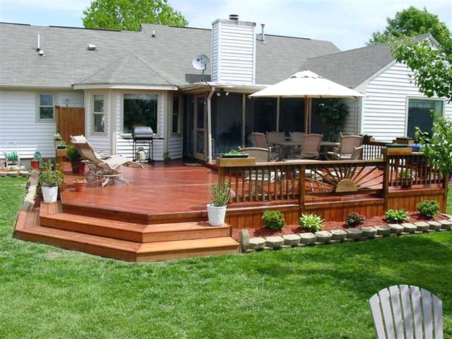 amazing nice backyard deck patio designs popular outdoor deck .