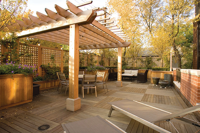Best Outdoor Living Deck - Traditional - Deck - Chicago - by Tech .