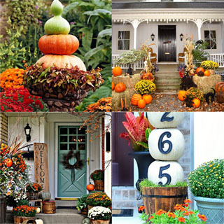 25 Splendid DIY Fall Outdoor Decorations - A Piece Of Rainb