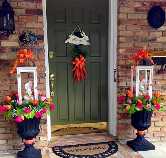 Outdoor Easter Decorations Ideas   4 UR Break - Family Inspiration .
