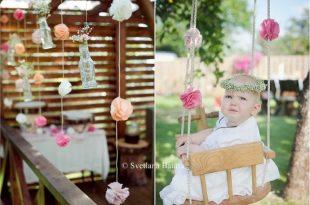 Christening outdoor decorations | Christening decorations .