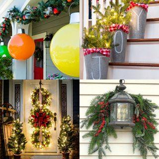 Gorgeous Outdoor Christmas Decorations: 32 Best Ideas & Tutorials .