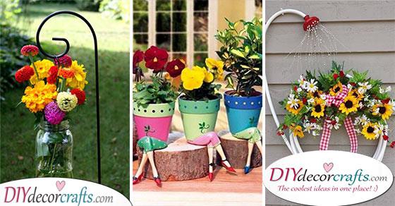 Garden Decorations for Spring - 20 Spring Outdoor Decoratio