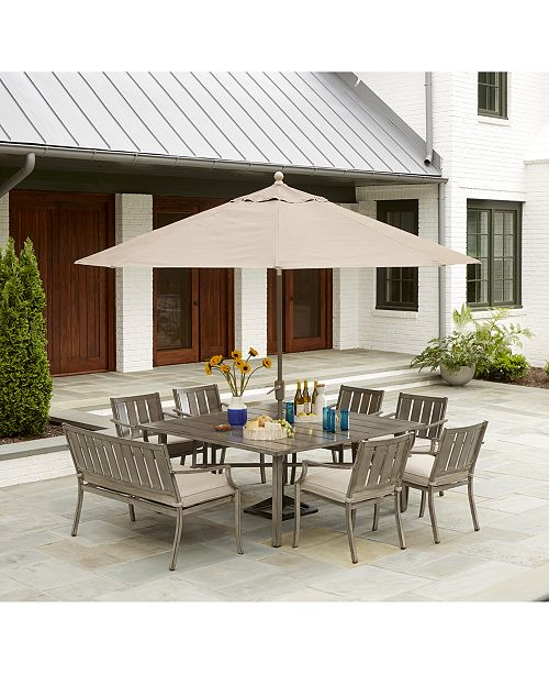 Furniture Wayland Outdoor Dining Collection, with Sunbrella .
