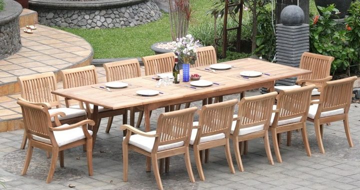 The Lovely Benefits of Teak Outdoor Dining Furniture - Lovely.net.