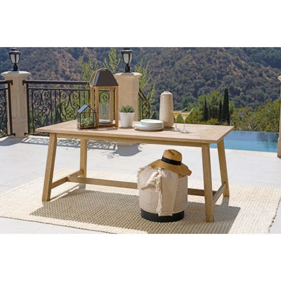 Buy Wood Outdoor Dining Tables Online at Overstock | Our Best .