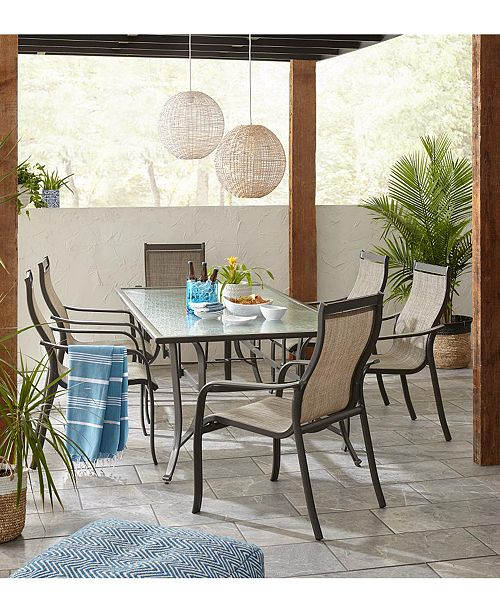 Furniture Reyna Outdoor Dining Collection, Created for Macy's .