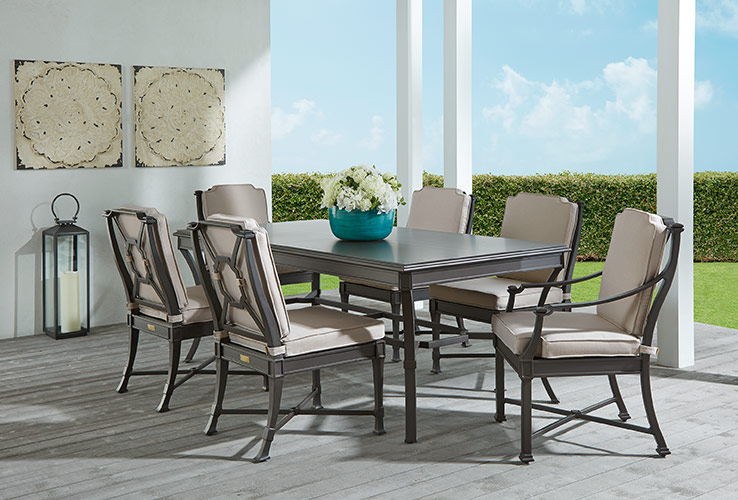 Outdoor Patio Dining Furniture: Wicker, Wood, Teak & Mo