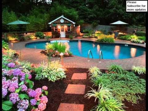Garden Decor Ideas Pictures   Outdoor Design Ideas - YouTu