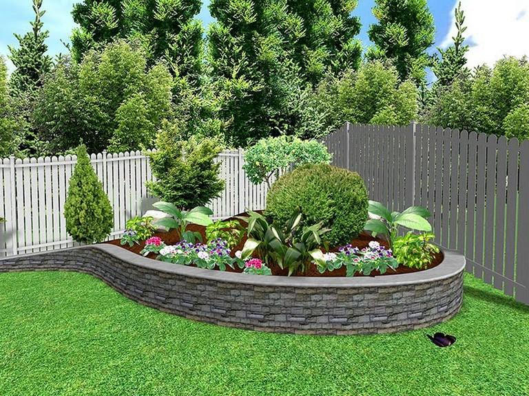 15+ Inspiring Small Outdoor Garden Decor Ideas - Page 2 of