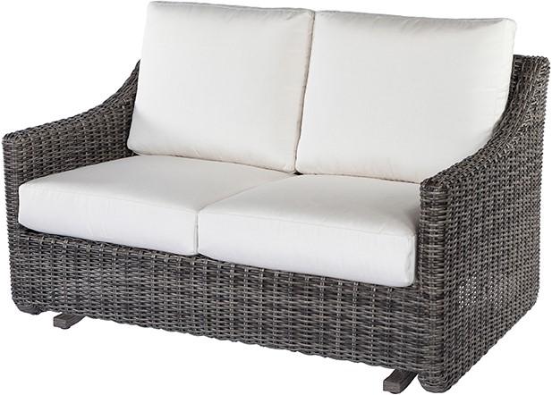 Ebel Avallon Loveseat Glider – Outdoor Furniture – Ellenbur