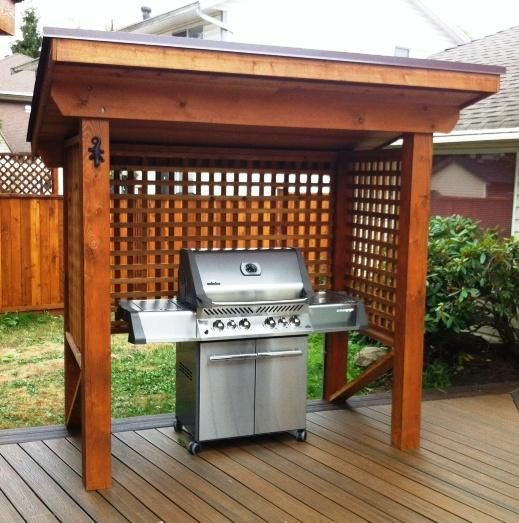 21 Grill Gazebo, Shelter And Pergola Designs | Outdoor living .