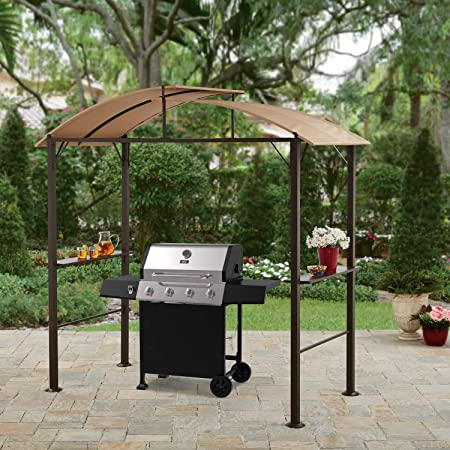 Amazon.com: Lauderdale Outdoor 7.75W x 6.25D x 7.75H ft. Curved .