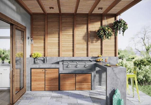Outdoor Kitchen Design Ti