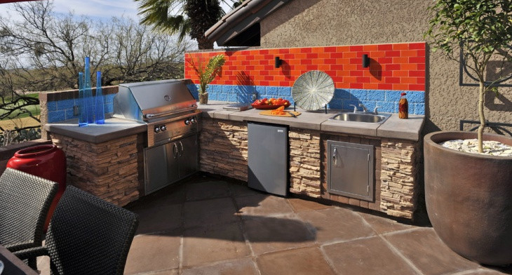 18+ Outdoor Kitchen Designs, Ideas | Design Trends - Premium PSD .