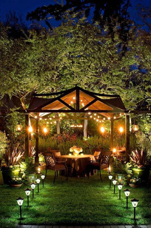 52 Outdoor Lighting Ideas To Your Garden For You - TRENDUHO