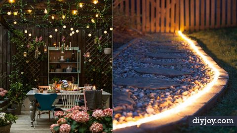 41 DIY Outdoor Lighting Ide