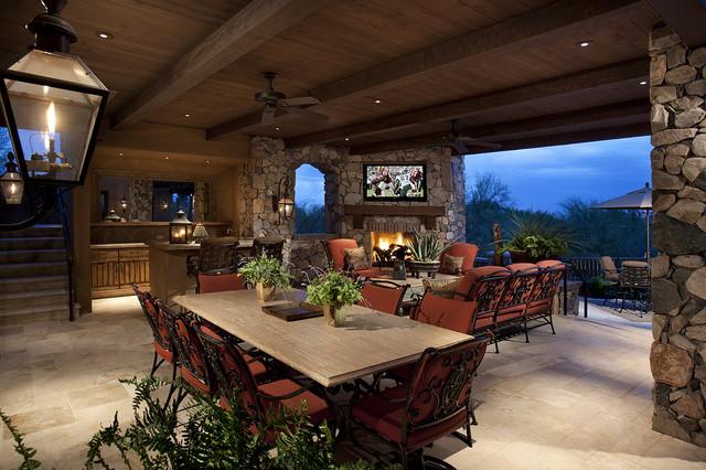 Outdoor Living Room - Mediterranean - Patio - Phoenix - by R.J. .