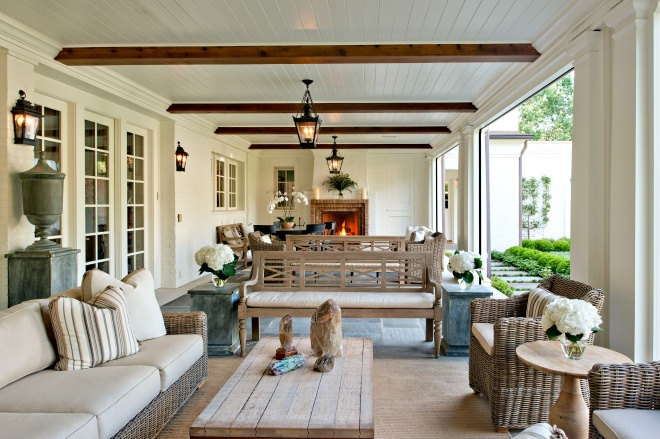 Outdoor Living Room and Space | Welcome Wednesday | Hadley Cou