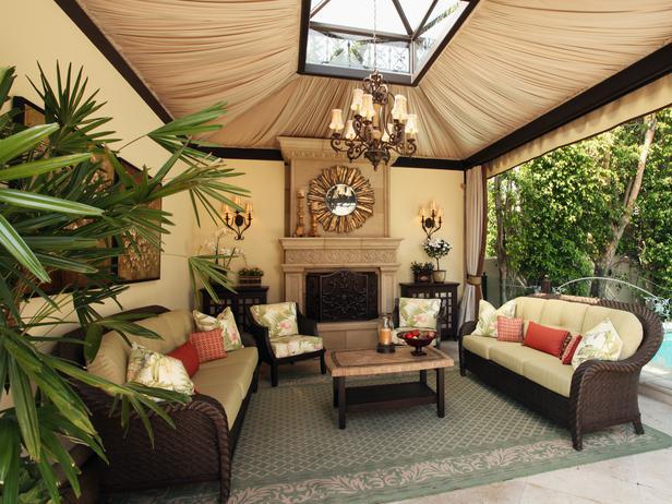 17 Marvelous Outdoor Living Space Design Ide