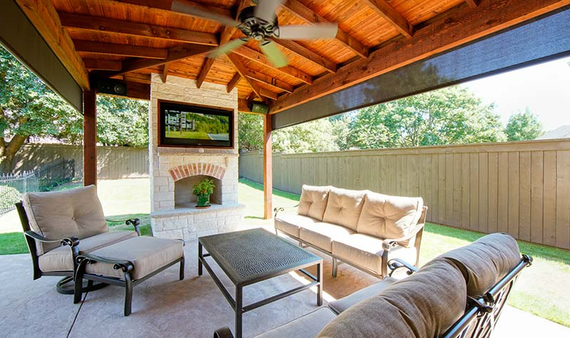 Outdoor Kitchens, Patio Covers   Fort Worth, Burleson TX   Hillman .