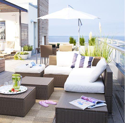 IKEA arholma outdoor modular lounge furniture … (With images .