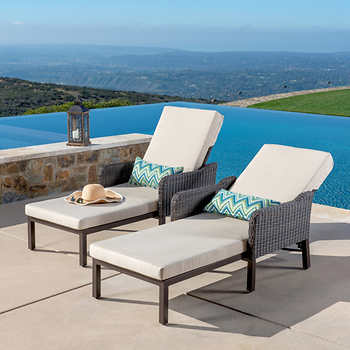 Outdoor Patio Chaise Lounges & Daybeds   Cost