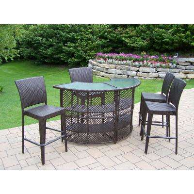 Wicker - Waterproof - Patio Bar Sets - Outdoor Bar Furniture - The .