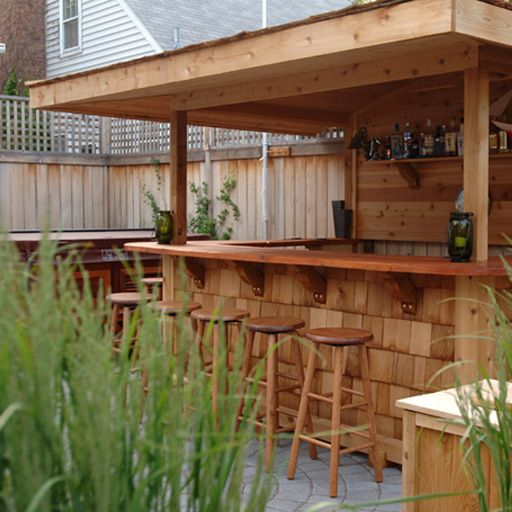 Outdoor Bar | Outdoors | Outdoor patio bar, Diy outdoor bar .