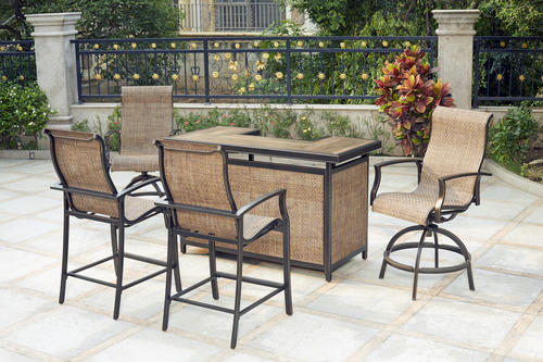 Backyard Creations® Sheridan Collection 5-Piece Bar Set at Menards