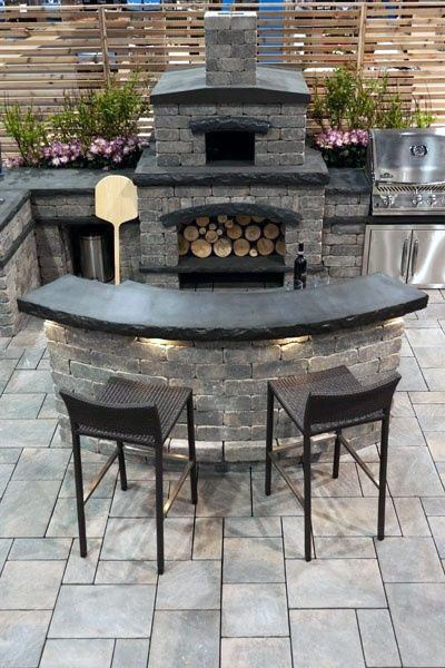 Top 50 Best Backyard Outdoor Bar Ideas - Cool Watering Hol