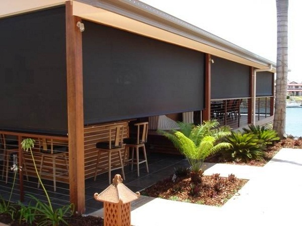 Ronald Home Designs: Outdoor Patio Blinds Collection to Protect .