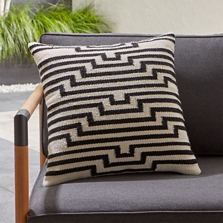 Mohave Lines Outdoor Pillow + Reviews | Crate and Barr