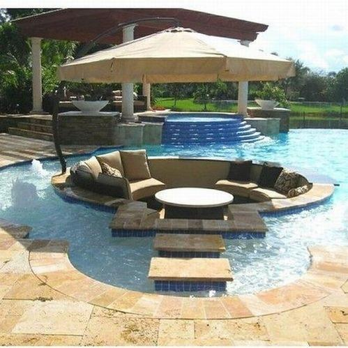 Awesome Outdoor Pool Furniture - Modern Innovation Desi
