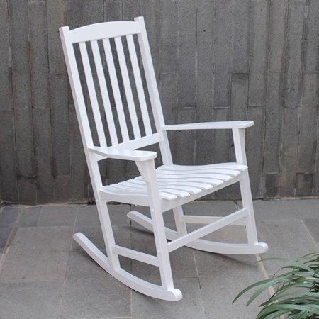 Mainstays Outdoor Rocking Chair, White - Walmart.com - Walmart.c