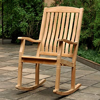 Amazon.com : Outdoor Rocking Chairs, Traditional Style Sherwood .