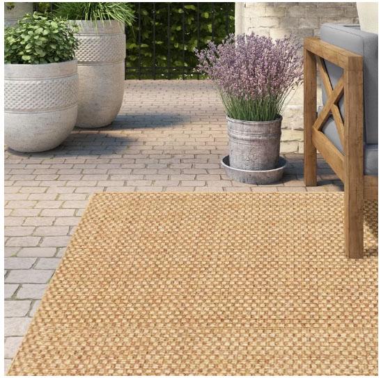 13 Pretty Indoor Outdoor Rugs - The Honeycomb Ho