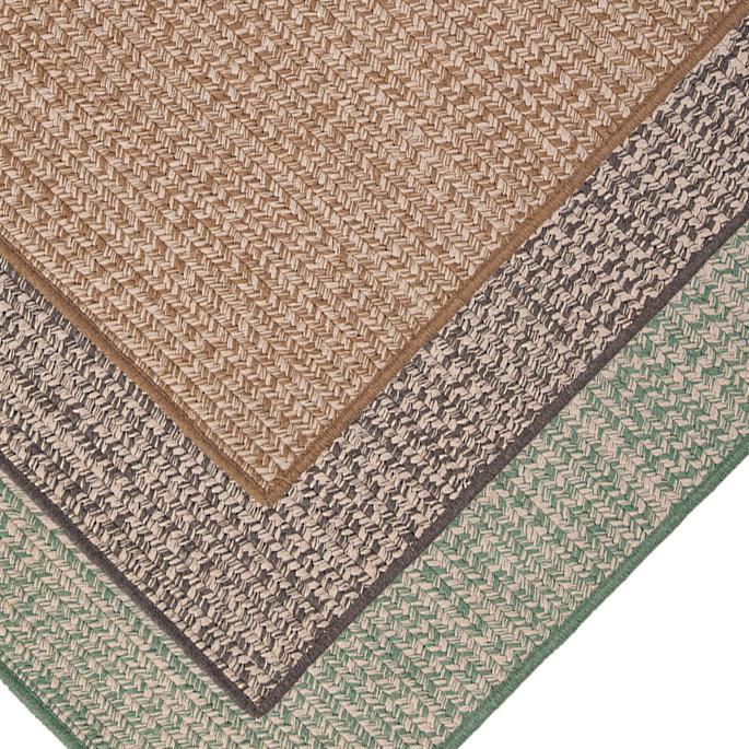 Sunbrella® Tweed Outdoor Rug   Frontga