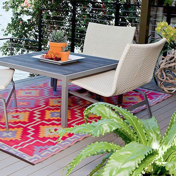 Lhasa plastic outdoor rug, patio rug, indoor outdoor rug .