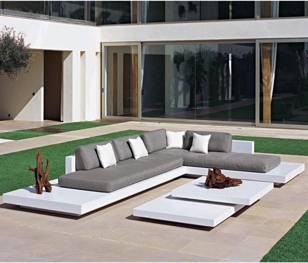 Platform Outdoor Sectional Sofa - Contemporary - Patio - Chicago .