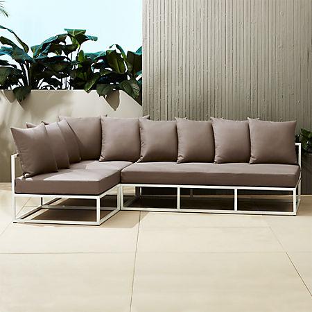 Casbah Modular Outdoor Sectional Sofa + Reviews | C