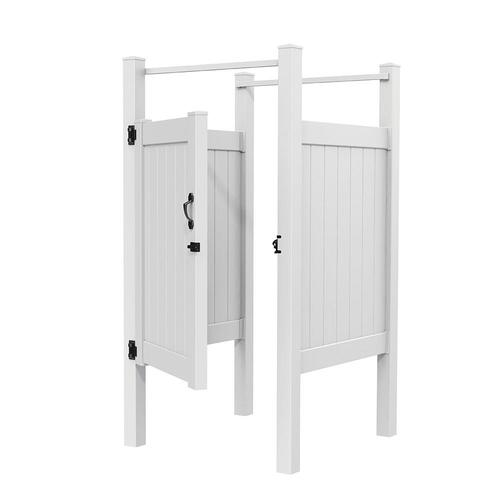 Freedom Enclosure White Outdoor Shower at Lowes.c