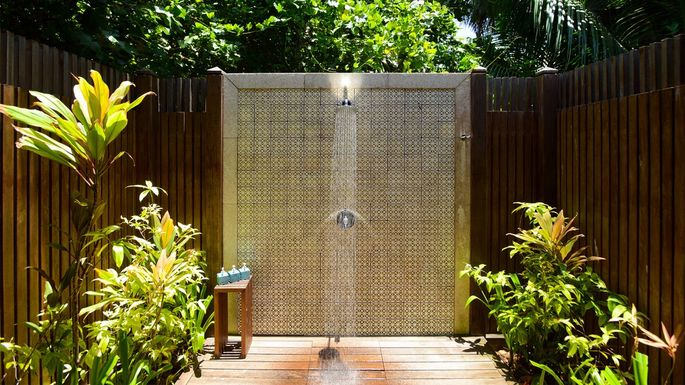 Pros and Cons of an Outdoor Shower | realtor.com