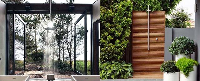 Top 60 Best Outdoor Shower Ideas - Enclosure Desig