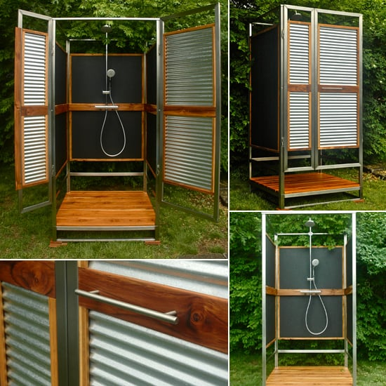 Outdoor Shower DIY | POPSUGAR Ho