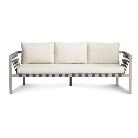 Jibe Outdoor 3 Seat Sofa - Modern Outdoor Sofas | Blu D
