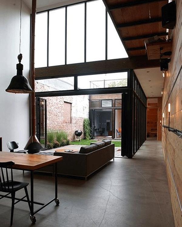 Indoor/Outdoor Spaces… – Stone Texti
