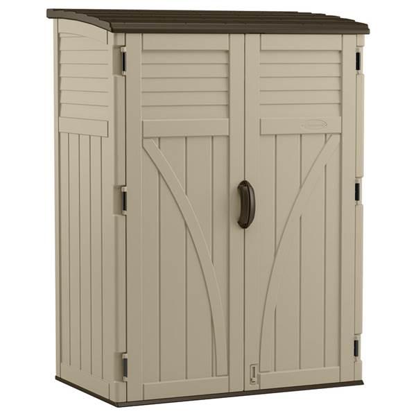 Suncast Vertical Outdoor Storage Shed - BMS5700 | Blain's Farm & Fle